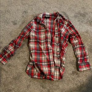 Excellent condition madewell flannel